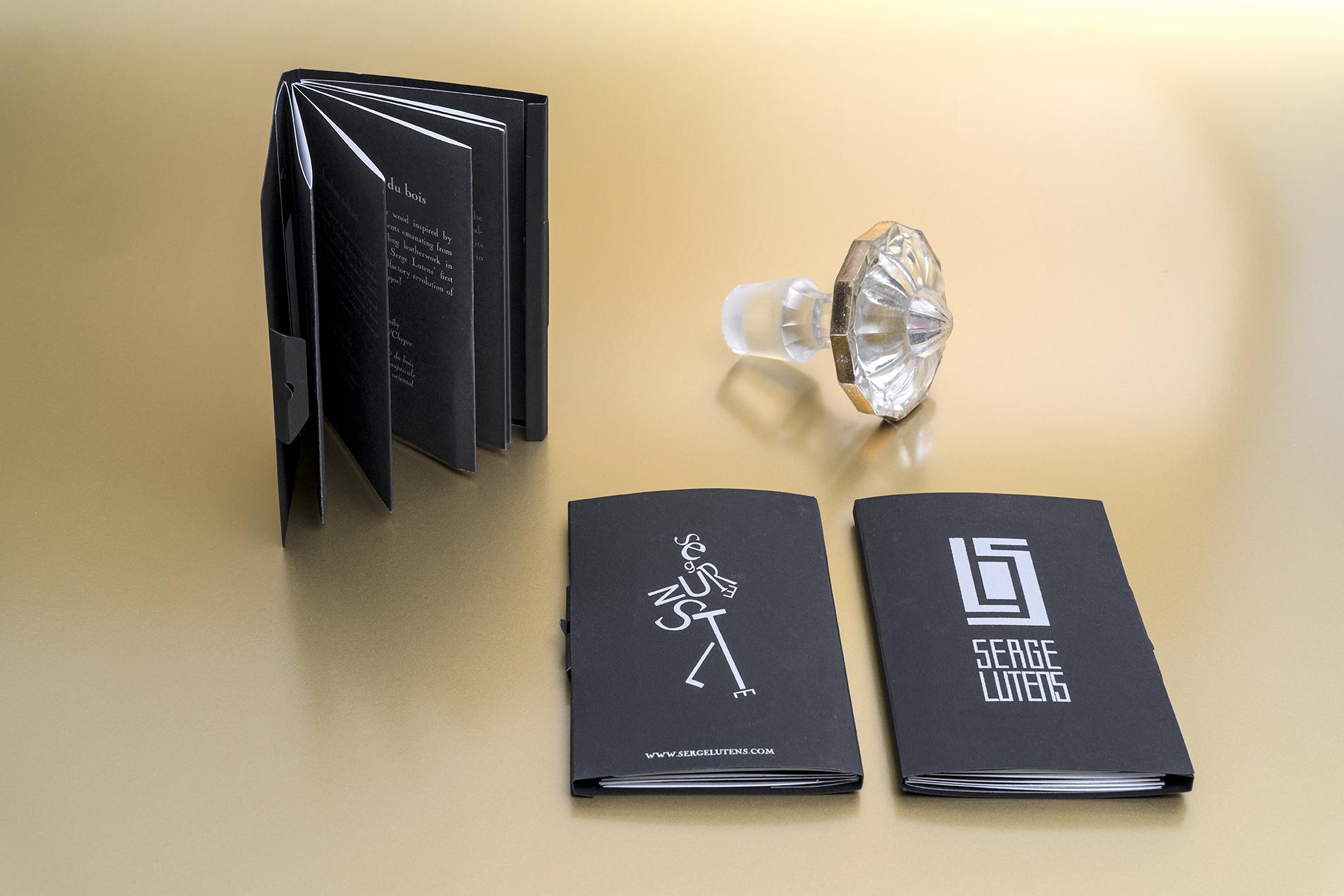 Les Petites Mouillettes : Booklets blotter Serge Lutens