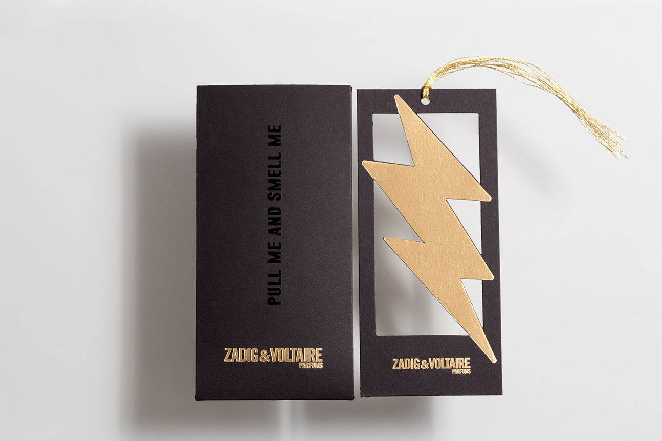 Le blotter Zadig&Voltaire Just Rock Homme en deux parties